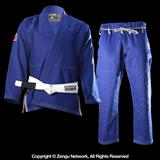 "93 Brand ""Hooks 2.0"" Jiu Jitsu Gi (Blue) with Free White Belt"